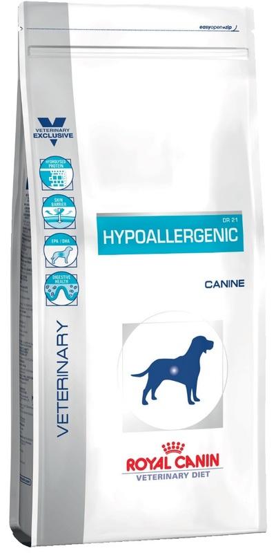 Royal Canin Hypoallergenic DR21 2кг.Корм влажный для собак