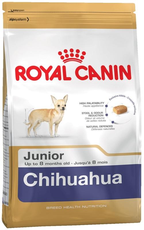 Royal Canin 500гр. Корм сухой для щенков чихуахуа