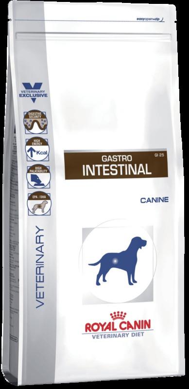 Royal Canin Gastro intensstinal GI25 2кг. Корм сухой для собак