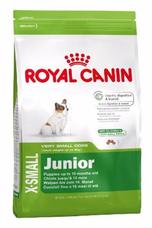 Royal Canin X-small Junior 500гр. Корм сухой для собак