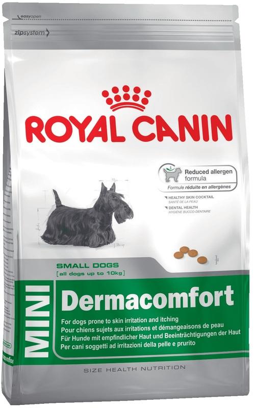 Royal Canin Mini Dermacomfort 800гр. Корм сухой для собак