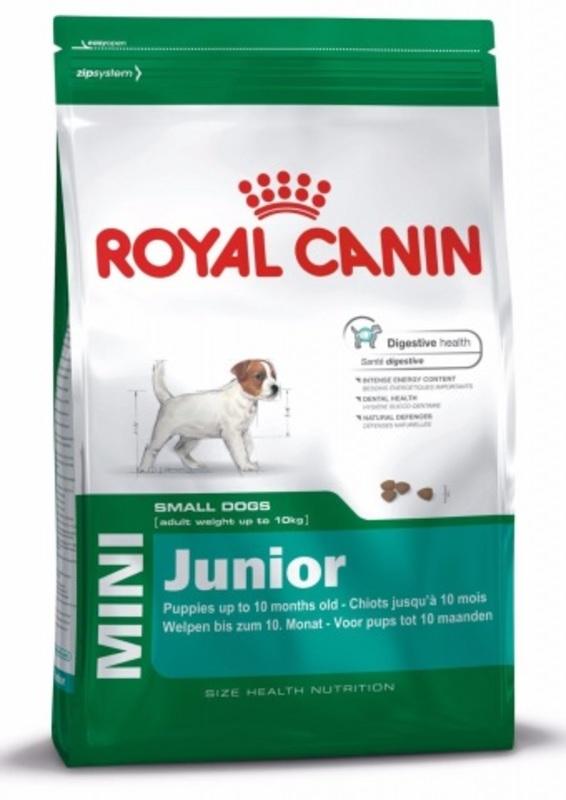 Royal Canin Mini Junior 800гр. Корм сухой для собак