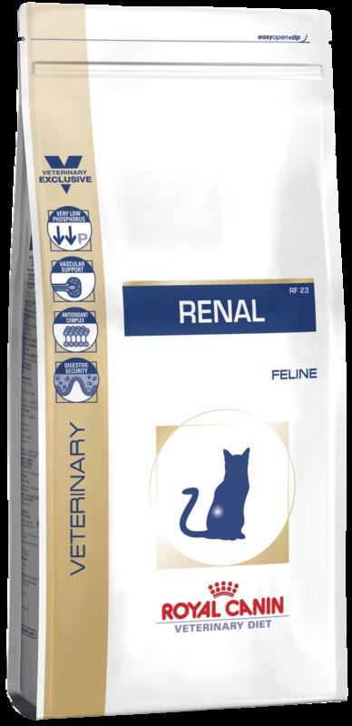 Royal Canin  RENAL RF23 500гр. Корм сухой для кошек