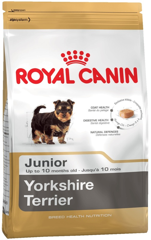 Royal Canin 500гр. Корм сухой для щенков породы йоркширский терьер