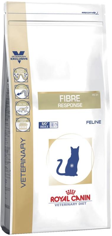 Royal Canin FIBRE RESPONSE FR31 400гр. Корм сухой для кошек