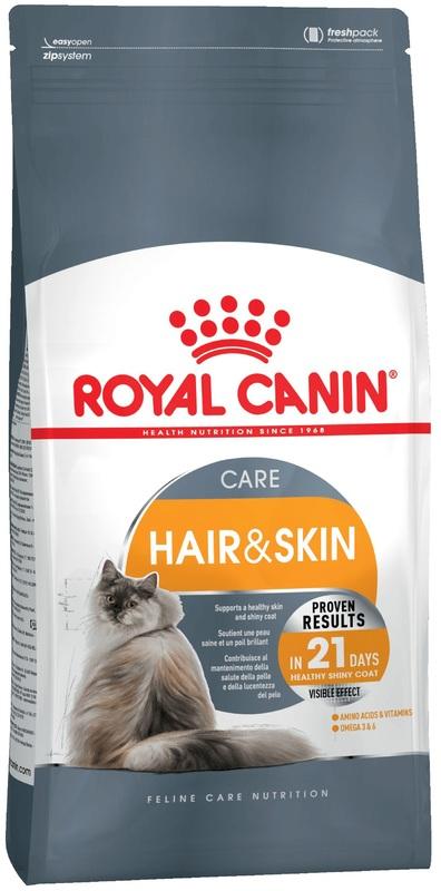 Royal Canin HAIR & SKIN 400 гр. Корм сухой для кошек