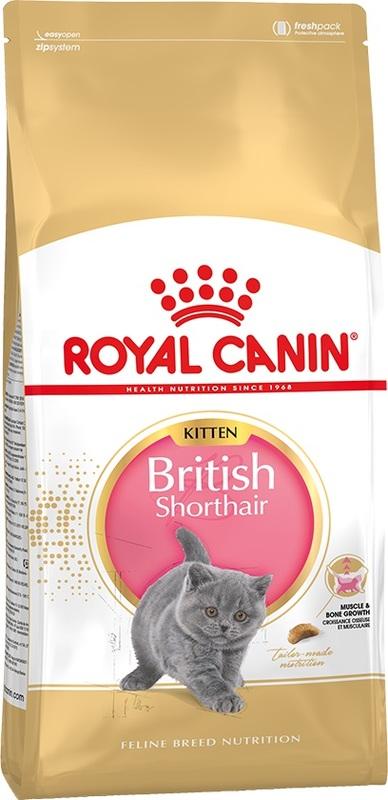 Royal Canin british shorthair kitten 400гр.  Корм сухой для котят