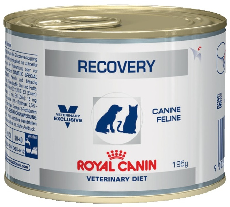 Royal Canin Recovery195гр. Консервы для кошек и собак