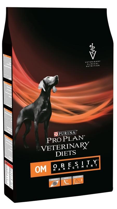 Pro Plan 3 кг. OM  сухой для собак при ожирении