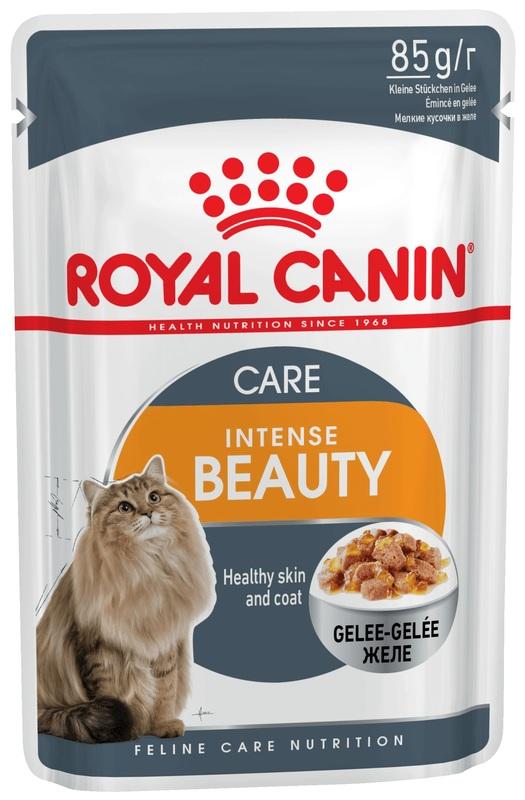 Royal Canin Intense Beauty Корм влажный для кошек  (в желе)