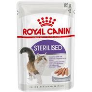 Royal Canin sterilised Комплект+паштет 4+1