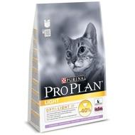 Pro Plan Light 400гр. Корм сухой для кошек, индейка