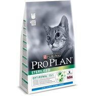 Pro Plan Sterilised 400гр. Корм сухой для кошек, кролик