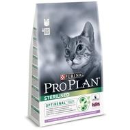 Pro Plan Sterilised 400гр. Корм сухой для кошек, кролик с индейкой