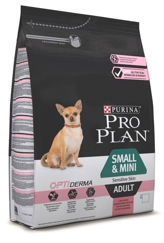 Pro Plan 700гр. Корм сухой  для собак мелких пород, лосось