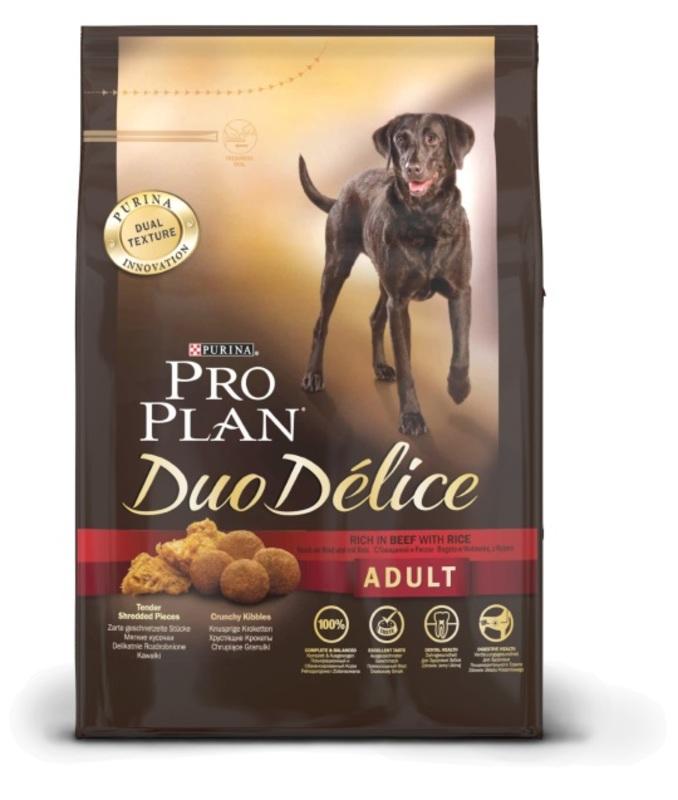 ProPlan Duo Delice 2кг. Корм сухой  для собак, лосось