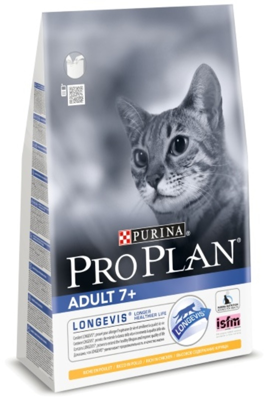 Pro Plan Adult 1,5кг. Корм сухой для кошек, курица