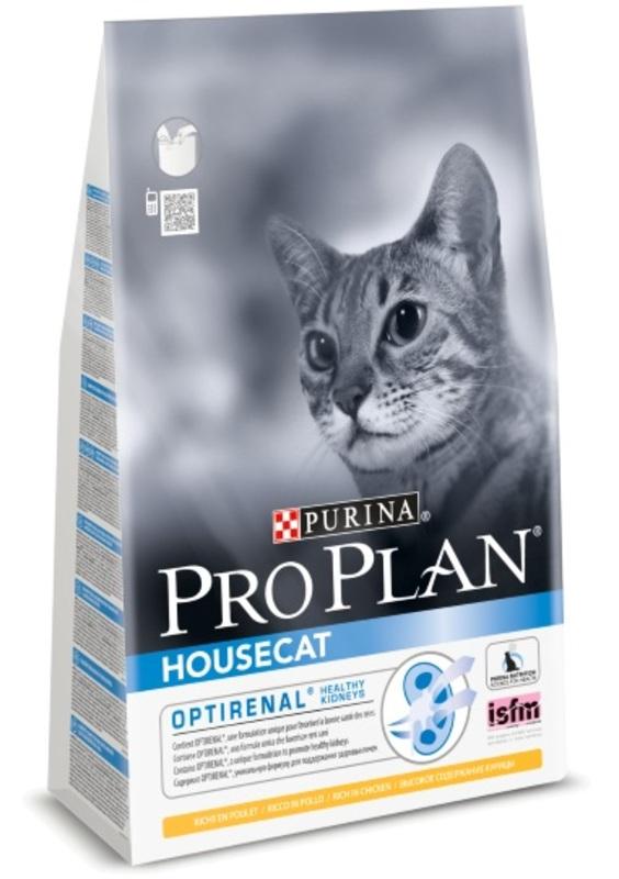 Pro Plan Housecat 1,5кг. Корм сухой для кошек, курица