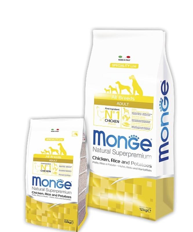 Monge Dog Speciality 800гр. Корм сухой для собак